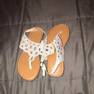 Cute Sandals with sparkles